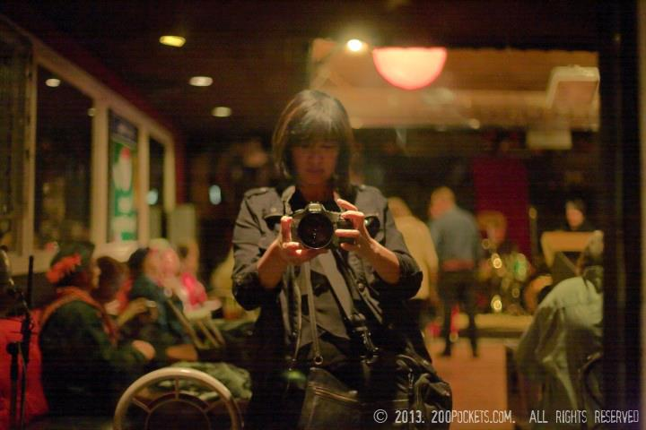 2-March-2013 - Self portrait at the Stork Club, Oakland, California