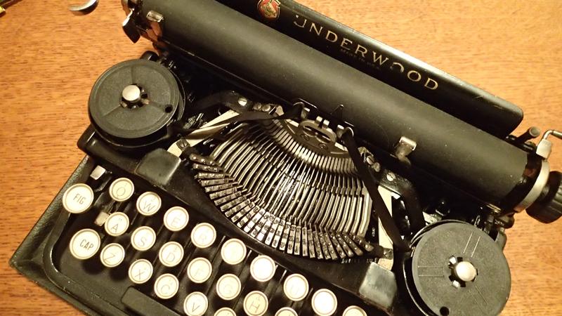 Underwood Standard 3 typewriter